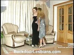 Joanna&Irene naughty anal lesbo video