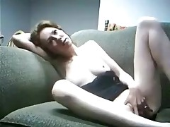 Girl starts out by rubbing her own body and getting herself turned on before feeling the ramrod inside. She finishes herself off the same way this babe started, with the touch of her hands down there.