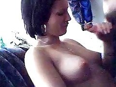 It's definitely a hawt turn on when your girlfriend pulls out the rod out of even asking and begins to slobber on it. See this slut do exactly that and add a little something extra by letting him film her. She's the hotty of everyone's dreams!