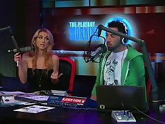 Watch the hot blonde host of the play playboy radio program 'Morning Show' discussing about some important facts of appearance and looks those you'll need to keep u fit and sexy! And to show the practical result that babe takes off her tops to show u how gorgeous her body is by obeying those rules herself!