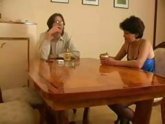 Mature Russian wife gets caught cheating with her youthful paramour