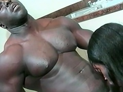 This sexy darksome playgirl can't live without her chap to be large and black. See this...