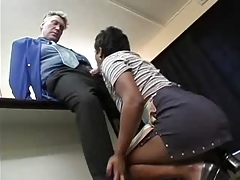 Old Boss and youthful Maid (german) -F70