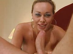 Italian Wife gives her constricted butthole for the 1st time...F70