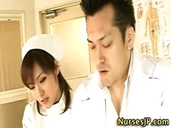 Hot oriental nurse slut