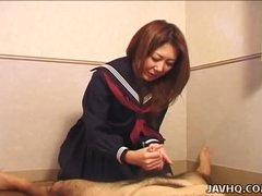Hot Nanako Hatsushima kinky tugjob