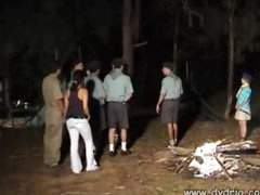 Czech Camp Counselor Makes His Fantasy Come True When He Hides Behind A Tree With Cute Girl Katia Kuller And Gets A Blowjob From Her Teeen Blowjob Sex