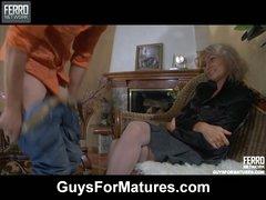 Ninette&Robin nasty mature clip