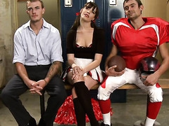 Pretty sexy beauty knox suspended, dog play, slavery and anal sex.