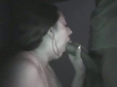 Amateur couple taping their sex on camera in a pure dark room. This chick sucks, licks, jerks and squeezes her husband's penis as this chick awaits her sweet and sticky spunk flow