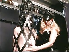 As soon as this chab steps into the dungeon the chap barely waits for his mistress. Many guys love being dominated by hot doxies and some trip a lengthy way to acquire such a treatment. In the real world we put value on honor and pride, but these guys give it all away for some admirable a-hole thrashing and weenie torture, check it out