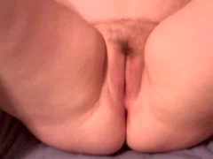 Hot toy sex of hairy fat cookie