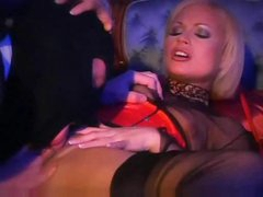 Large hard dick meat pumping two blondes