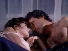Retro sex with a glamorous girl in underware