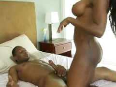 Black milf Diamond screwed in her wet cunt