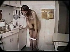 Voyeur Russian tries to help and see at the same time as this sexy slut fingers her wet pussy in this amateur made for home video. You can have a fun her hairy pussy in action and in the raw.