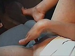Cute slender girl with admirable little pointer sisters widens her legs in the front seat of her husbands car and fingers her self  that babe has admirable perky pointer sisters and hard nipples, admirable vocal,   good to watch