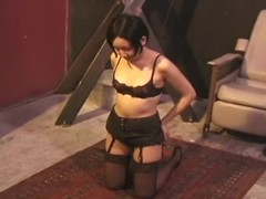 Chick becomes pliant and the ropes leave her vulnerable