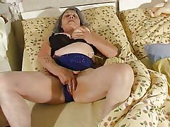 Although our granny is so old that that babe barely moves the fucking slut still needs to fuck. Cornel rubs her saggy vagina and then receives some help from her girl. This babe kisses these old wrinkled love muffins and helps her undress so they can have some lesbo action. The whores want to acquire immodest so why not watch them and have a fun