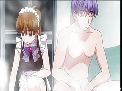 It's hard to find a good maid those days, most of 'em are just cute and clumsy. This one for sample is as pretty as stupid and her corporalist got sick and tired so he's going to use her for smth else. After this man putted her to rub his soapy cock the man gives her a hard fuck from behind, showing that she's good for something.
