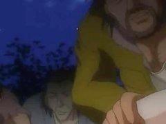 Poor anime serf beauties abased