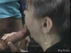 granny with hairy pussy gets screwed and facialed
