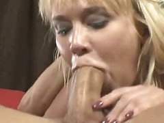 Busty Weenie Whore Carly Parker Giving A Sloppy Mean Oral sex On Rock Hard Weenie