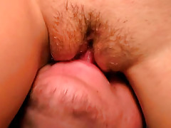 Gals blowing and fucking at party