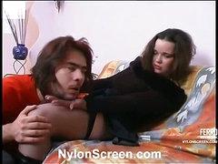 Nora&Danil nylon fucking video