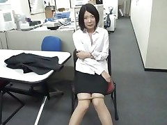 Bored at work the slutty brunette sweetheart starts engulfing on that dildo. She's horny and loves playing with dildos but what if her boss finds her? Doesn't this sweetheart knows that this kind of stuff are not allowed at work? Well, maybe this sweetheart will be favourable and won't receive caught, or this sweetheart will have to suck on a real cock