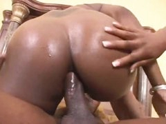 Dark beauties are all about the anal sex
