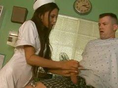 Petite nurse Alexis Love hardcore sex