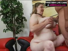 Plumper Gal Receives It From Throbbing Guy Part 2