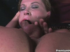 Big racked Sara Stone throat drilled