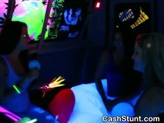 Gals Use Glowsticks As Dildos During Specie Talks Stunt