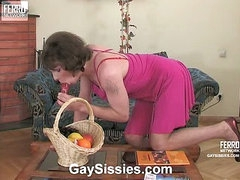 Randolph&Desmond kinky homo crossdresser video