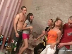 Provide Yourself with Sperm previous to Hot Student Party