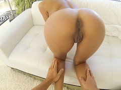 Tan hotty receives fucked