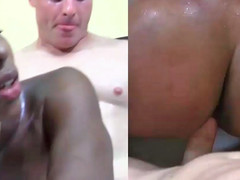 Shae Spreadz giving head and getting stuffed by white guy
