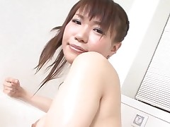 Pal licks, fingers and fucks curly snatch of girlie from Asia